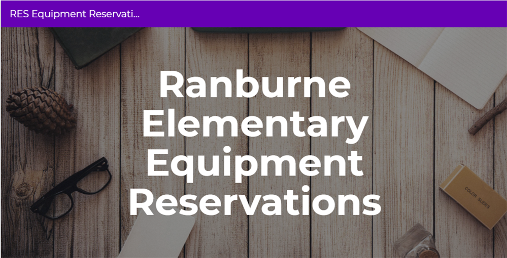 RES Equipment Reservation