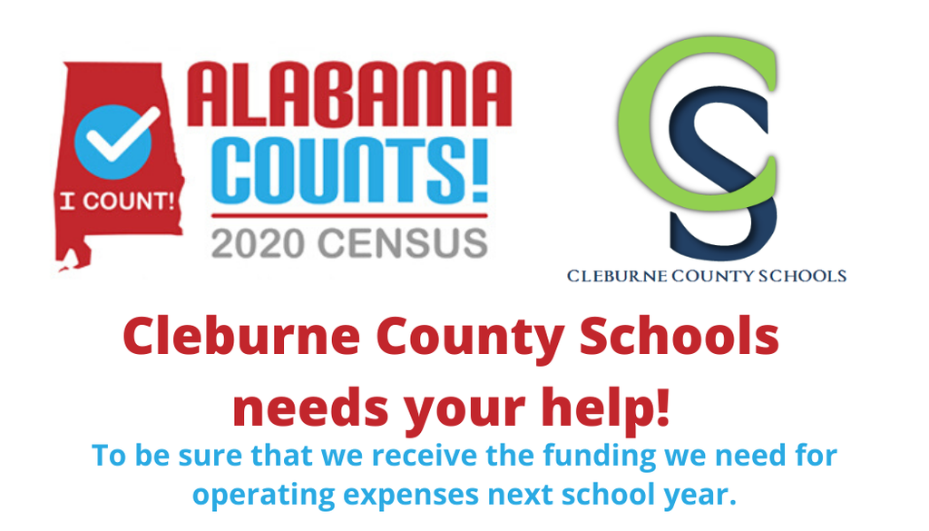 Alabama and Cleburne County Counts!